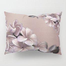 Plumerias Ombre Pillow Sham