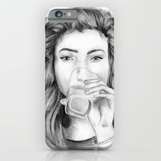 Lorde Drawing iPhone 6s Slim Case