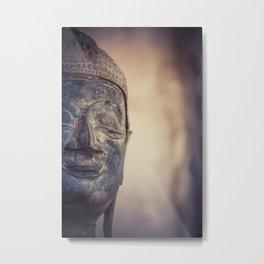 Buddha in Haw Phra Kaew, Laos Metal Print