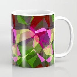 Rosas Moradas 1 Abstract Polygons 2 Coffee Mug