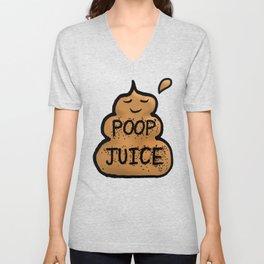 Poop Juice Unisex V-Neck