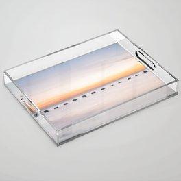 Dusk Sea Acrylic Tray