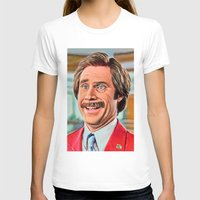 anchorman T-shirts featuring ANCHORMAN by i live