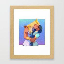 Kisses for She-Ra: Mermista Framed Art Print