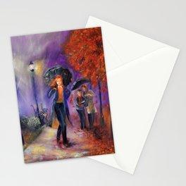 Evening Walk Stationery Cards