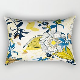 Flowers patten1 Rectangular Pillow