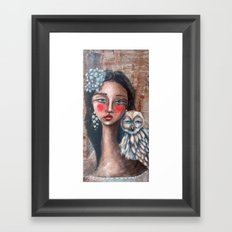 Beyond the Veil Framed Art Print