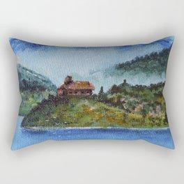 The House of the Ancestors Rectangular Pillow