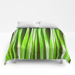 Tropical Green Riverweed Comforters