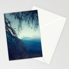 Blue Mountain Morning Stationery Cards