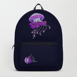 Ruffled Jellyfish Backpack