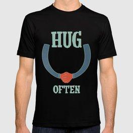hug often T-shirt