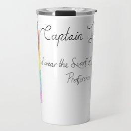 Captain Jack (John Barrowman) and the Scarf of Sexual Preference Travel Mug