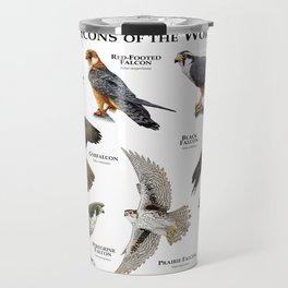 Falcons of the World Travel Mug