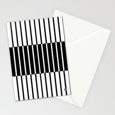 Zebras Play Piano Duet Stationery Cards