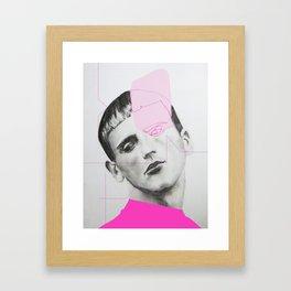 raw & rough #2 Framed Art Print