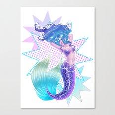 Mermaid POP Canvas Print