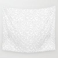 sprinkles Wall Tapestries featuring Sprinkles by Jenni Freidman