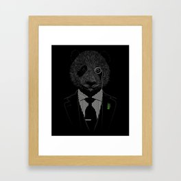 Sir Panda Framed Art Print