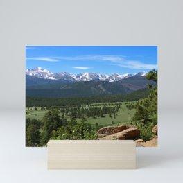 A Glorious Morning In The Rockies Mini Art Print