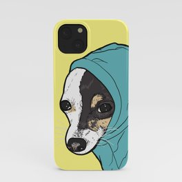 Chihuahua in Hoodie iPhone Case