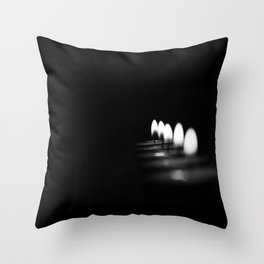 Candle Throw Pillow