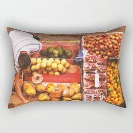 Fruit Market  - Latinoamerica Rectangular Pillow