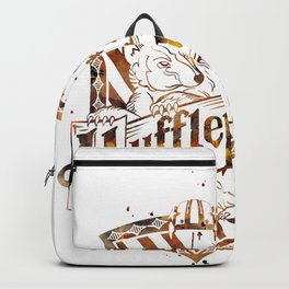 Hufflepuff Crest Backpack