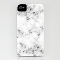 iPhone 4 Case featuring Real Marble by Grace