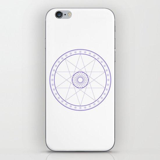 Anime Magic Circle 10 iPhone Skin