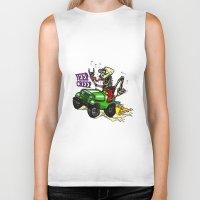 jeep Biker Tanks featuring Jeep Creep by CreepWerks