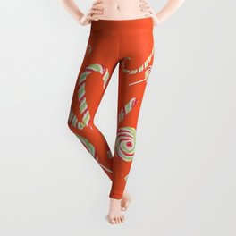 Candy joy word Leggings