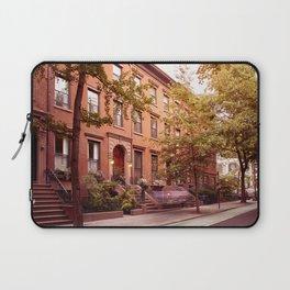 Brooklyn Heights at dusk Laptop Sleeve