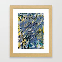 Witched Trees Framed Art Print