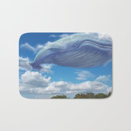 Sky Whale Bath Mat