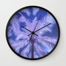 candy palms Wall Clock