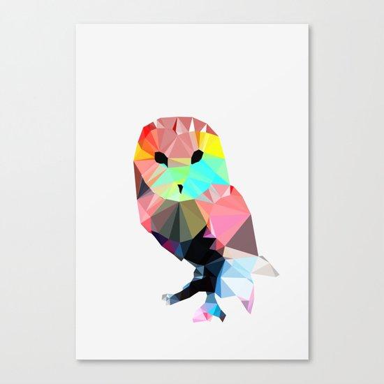 Crystal Owl Canvas Print