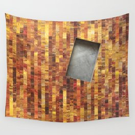 Fire and Shadow Wall Tapestry