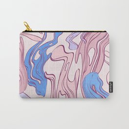 Pink lava Carry-All Pouch