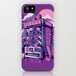 Retro gaming machine iPhone Case
