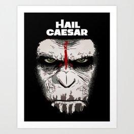 Hail Caesar Art Print