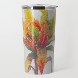 indian croton Travel Mug