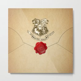 HARRY POTTER ENVELOPE Metal Print