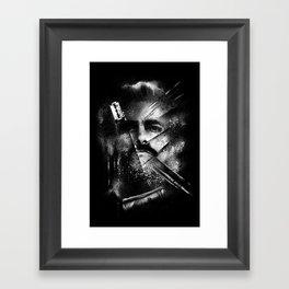 Plata O Plomo Framed Art Print
