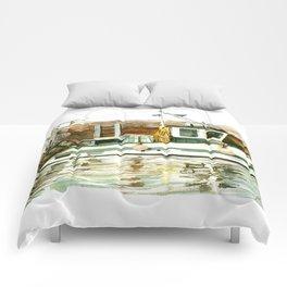 Honfleur - Pêche Traditionnelle Comforters