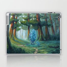 Forest magic crystal landscape Laptop & iPad Skin