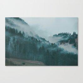 Swiss Fog VI Canvas Print
