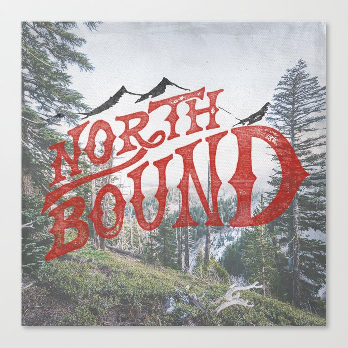 North Bound  Canvas Print