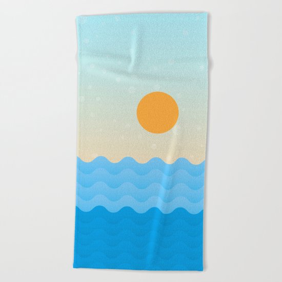 Summer Soul Beach Towel