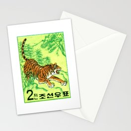 1962 KOREA Siberian Tiger Postage Stamp Stationery Cards